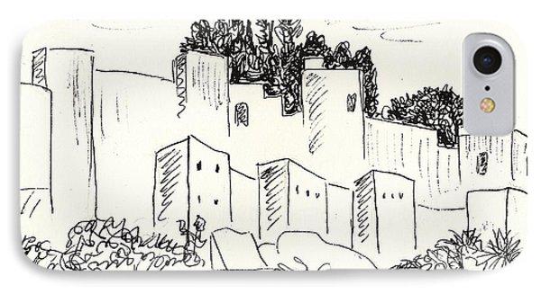 Alcazaba In Malaga IPhone Case