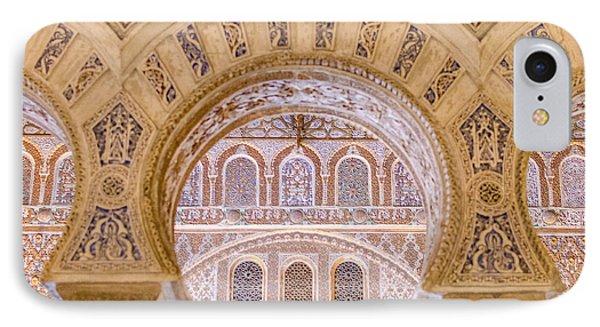 Alcazar Of Seville - Unique Architecture IPhone Case by Andrea Mazzocchetti