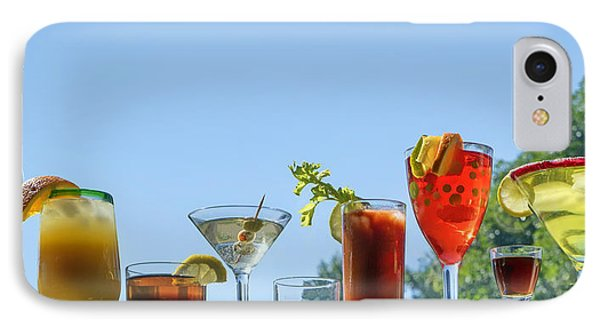 Alcoholic Beverages - Outdoor Bar IPhone Case by Nikolyn McDonald