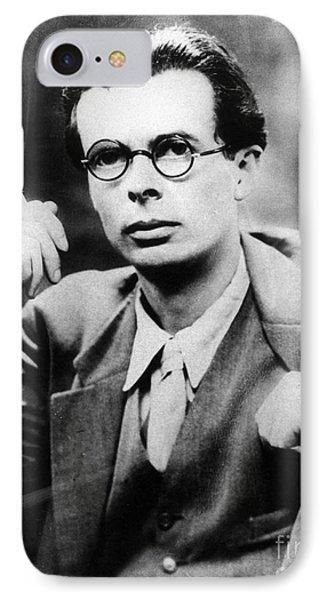 Aldous Huxley (1894-1963) IPhone Case by Granger
