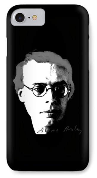 Aldous Huxley IPhone Case by Asok Mukhopadhyay