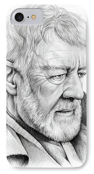 Alec Guinness IPhone Case by Greg Joens