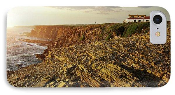 IPhone Case featuring the photograph Alentejo Cliffs by Carlos Caetano