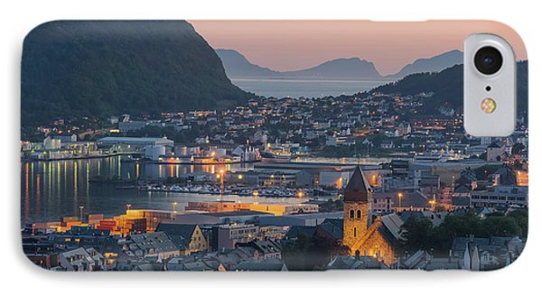 Alesund 05 IPhone Case by Tom Uhlenberg