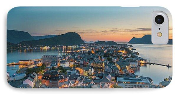 Alesund 07 IPhone Case by Tom Uhlenberg