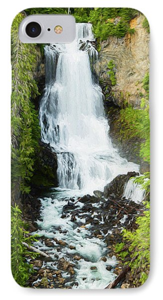 IPhone Case featuring the photograph Alexander Falls - 2 by Stephen Stookey