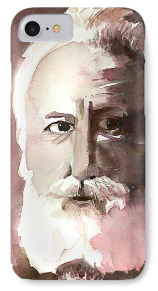 Alexander Graham Bell Phone Case by Arline Wagner