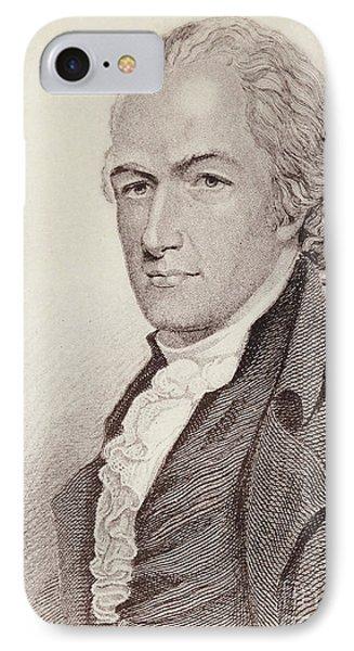 Alexander Hamilton IPhone Case by American School