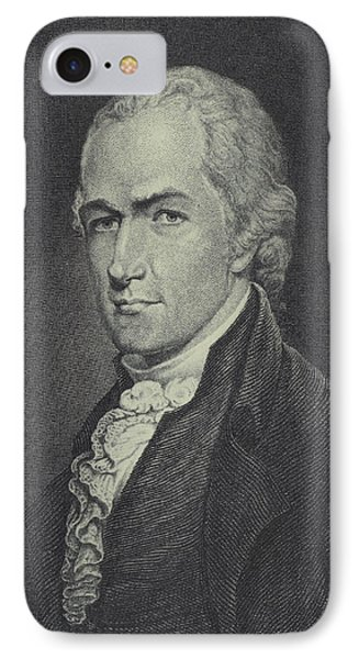 Alexander Hamilton IPhone Case by Archibald Robertson