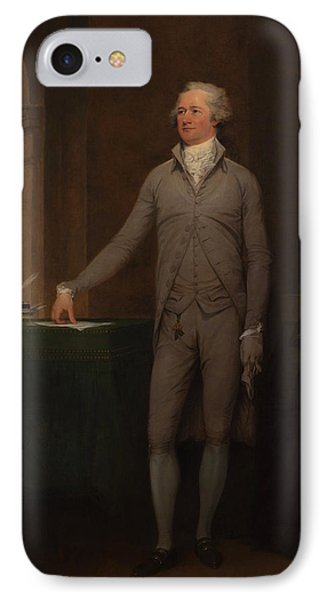 Alexander Hamilton Full-length Portrait IPhone Case