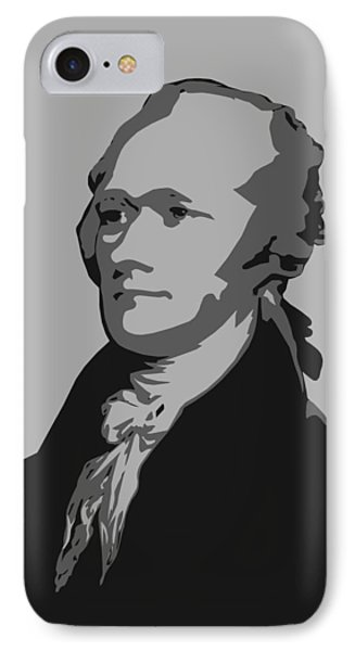 Alexander Hamilton Graphic IPhone Case by War Is Hell Store
