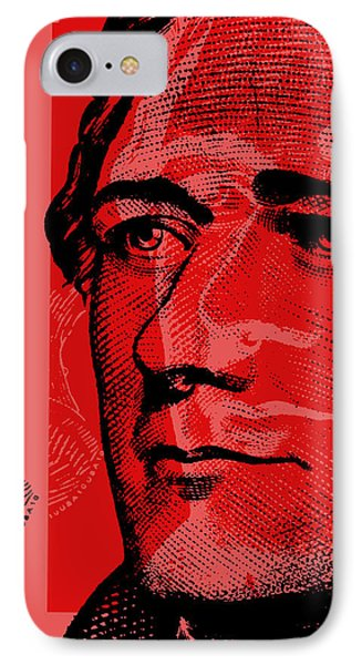 Alexander Hamilton - $10 Bill IPhone Case by Jean luc Comperat