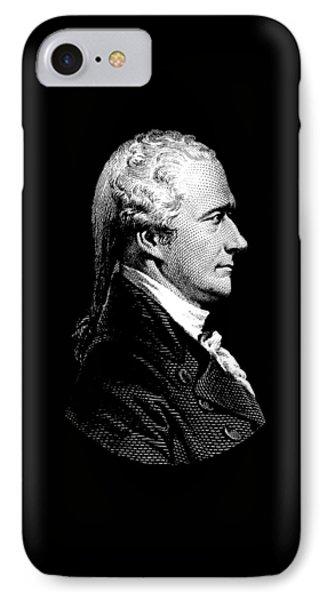 Alexander Hamilton Portrait IPhone Case by War Is Hell Store