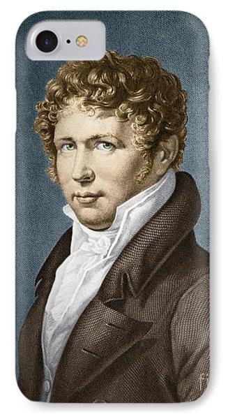 Alexander Von Humboldt, Prussian IPhone Case by Science Source