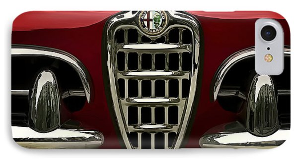 Alfa Red IPhone Case by Douglas Pittman