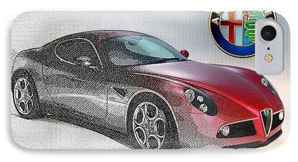 Alfa Romeo 8c Competizione  IPhone Case