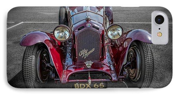 Alfa Romeo IPhone Case by Adrian Evans
