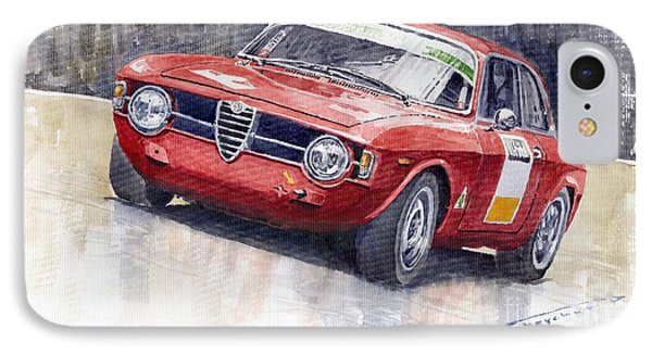 Alfa Romeo Giulie Sprint Gt 1966 IPhone Case