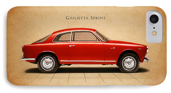 Alfa Romeo Giulietta Sprint IPhone Case by Mark Rogan
