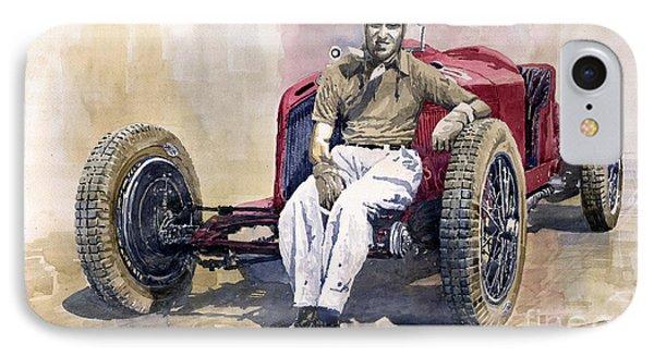 Alfa Romeo Monza Tazio Nuvolari 1932 IPhone Case by Yuriy  Shevchuk