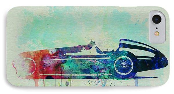 Alfa Romeo Tipo Watercolor IPhone Case by Naxart Studio