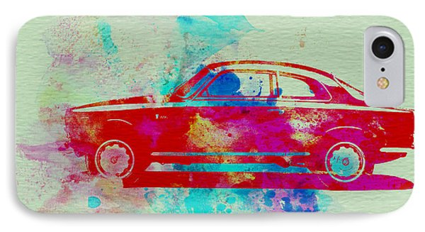 Alfa Romeo  Watercolor 2 Phone Case by Naxart Studio