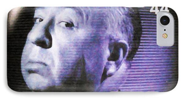 Alfred Hitchcock Presents IPhone Case by Lanjee Chee