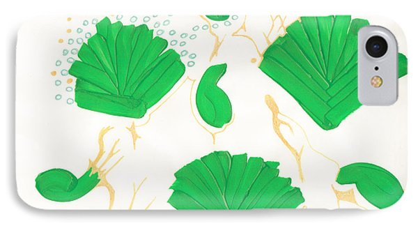 Algae Blooms Phone Case by Mary Mikawoz