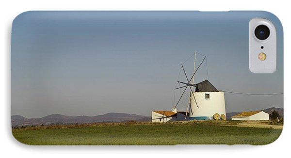 Algarve Windmill Phone Case by Heiko Koehrer-Wagner