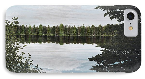 IPhone Case featuring the painting Algonquin Park by Kenneth M  Kirsch