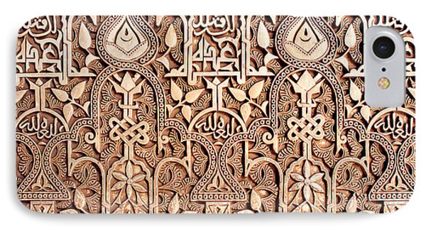 Alhambra Wall Section IPhone Case