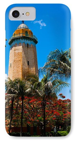 Alhambra Water Tower IPhone Case by Ed Gleichman