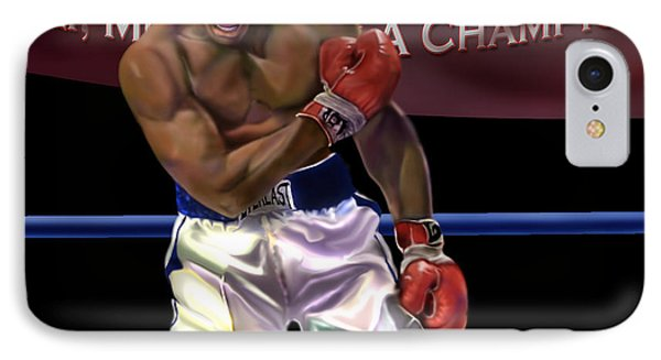 Ali - More Than A Champion Phone Case by Reggie Duffie