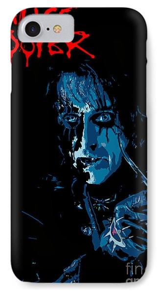 Alice Cooper Phone Case by Caio Caldas