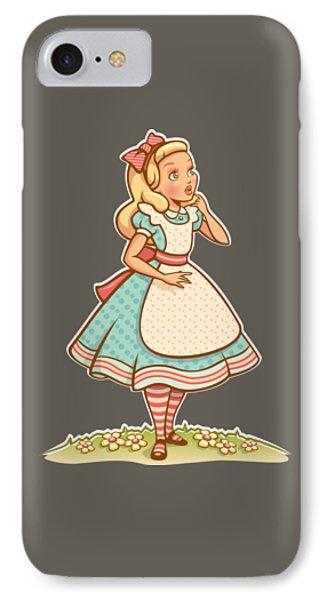 Alice IPhone Case by Elizabeth Taylor