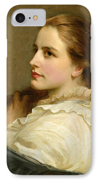 Alice IPhone Case by Henry Tanworth Wells