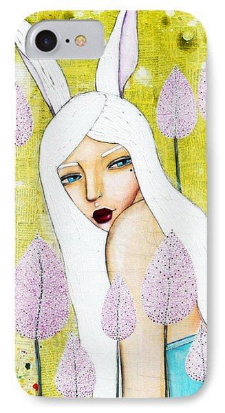 IPhone Case featuring the mixed media Alice In Oz by Natalie Briney