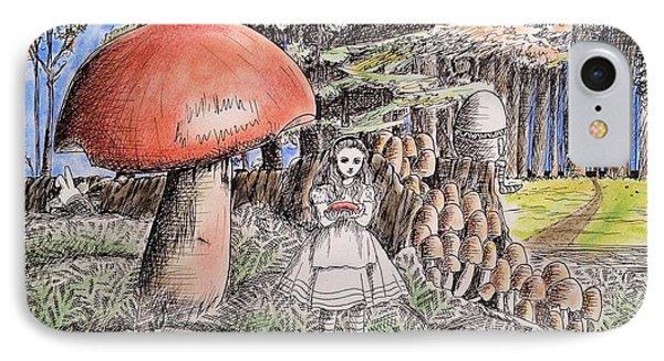 Alice In Wonderland 2 Phone Case by Keiko Olds