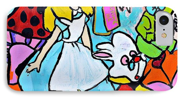 Alice  IPhone Case by Nicole Gavin