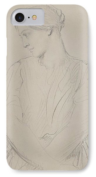 Alice Ozy IPhone Case by Theodore Chasseriau