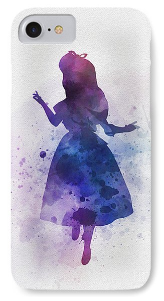 Alice IPhone Case by Rebecca Jenkins