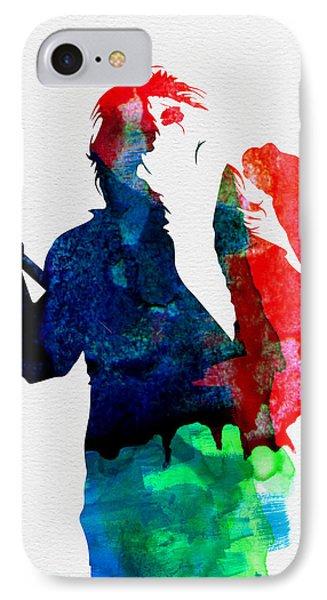 Alice Watercolor IPhone Case by Naxart Studio