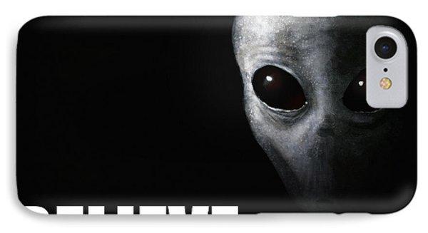 Alien Grey - Believe IPhone Case