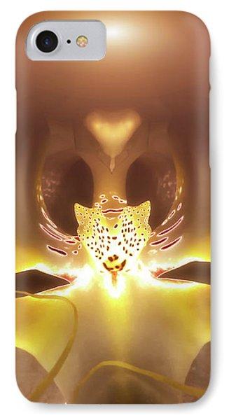 Alien Orchid Phone Case by Wim Lanclus