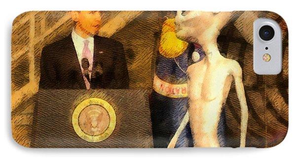 Alien President IPhone Case