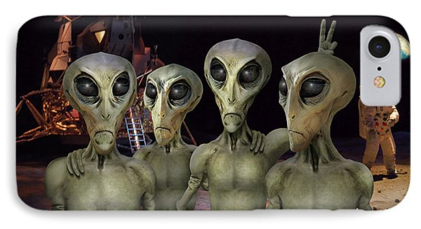 Alien Vacation - Kennedy Space Center Phone Case by Mike McGlothlen