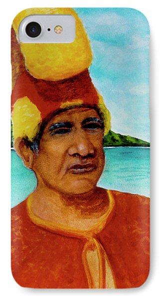 Alihi Hawaiian Name For Chief #295 Phone Case by Donald k Hall