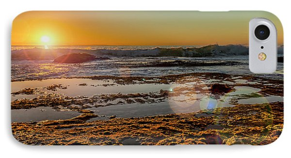 Aliso Point With Flare IPhone Case by Kelley King