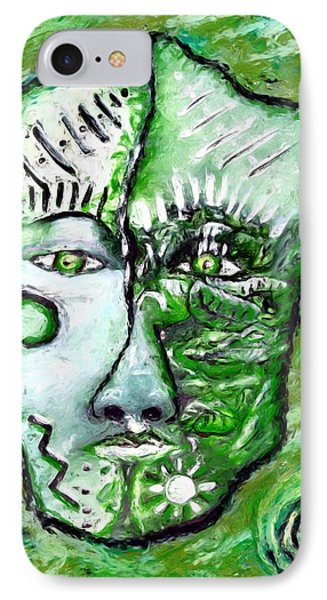 Alive A Mask IPhone Case by Shelley Bain