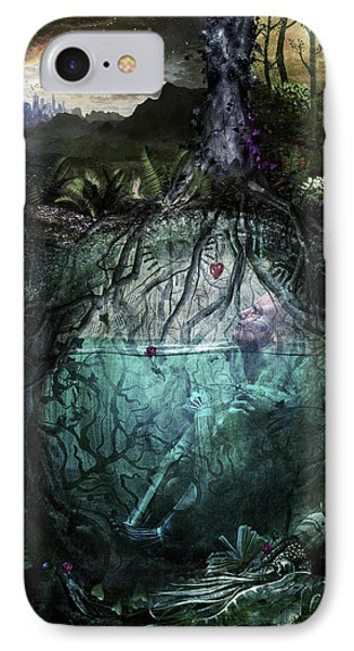 Alive Inside IPhone Case by Cameron Gray